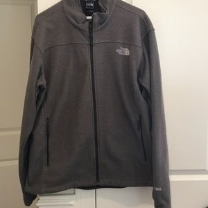 Men's Gray North Face jacket